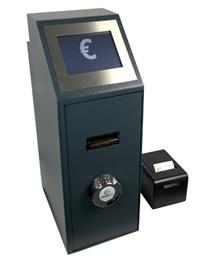 Point of Sale (POS) Noten Deposit System für Kassenabschöpfung oder für die Einzahlung der Tageseinnahmen